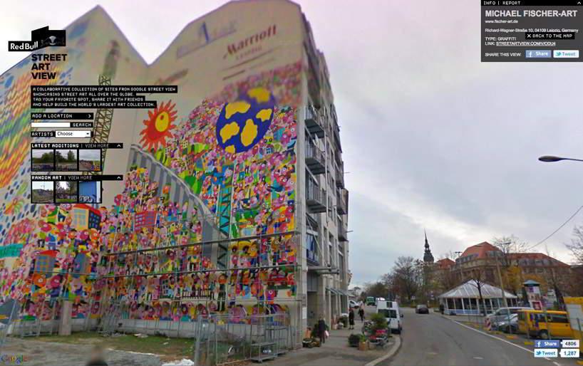 Google abrió Art Street Project para difundir el arte callejero.