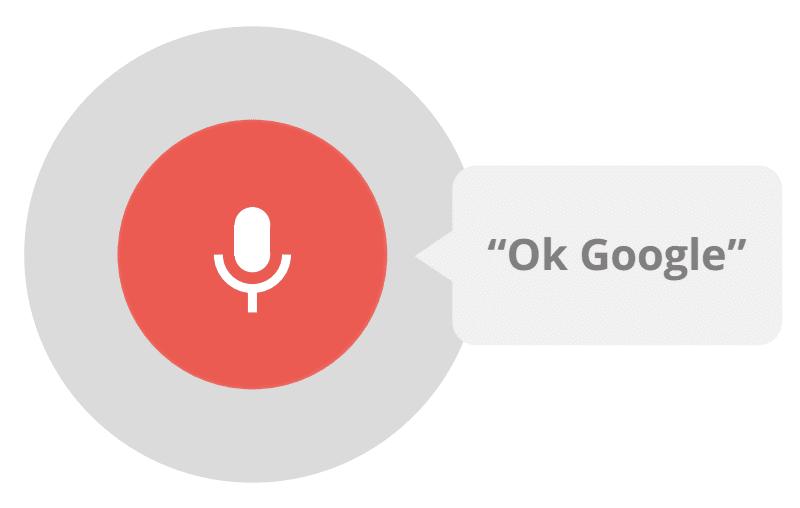 OK Google podrá estar en español antes que termine 2014.