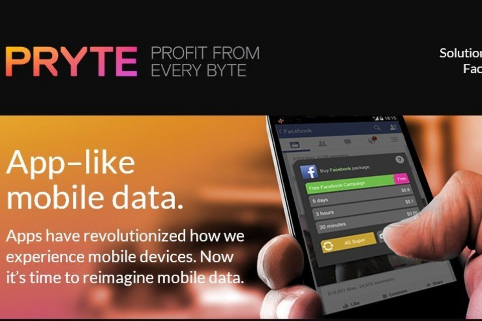 Facebook añadirá la labor realizada por Pryte en datos móviles a su trabajo.