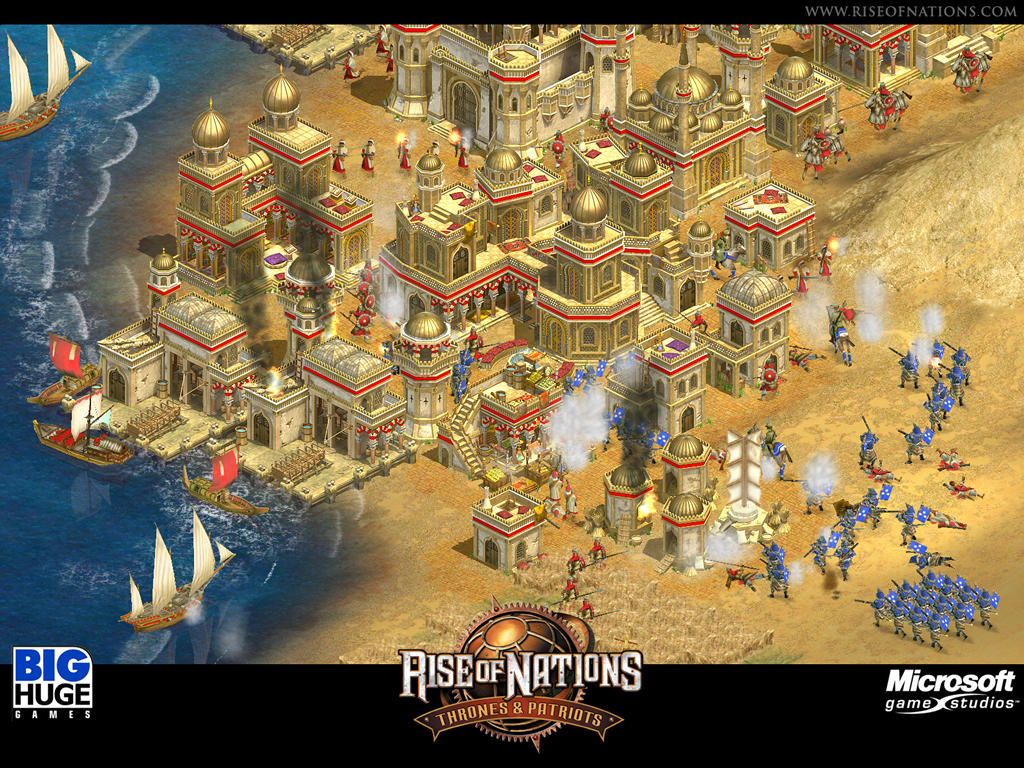 Rise of nations: thrones and patriots | rise of nations wiki.