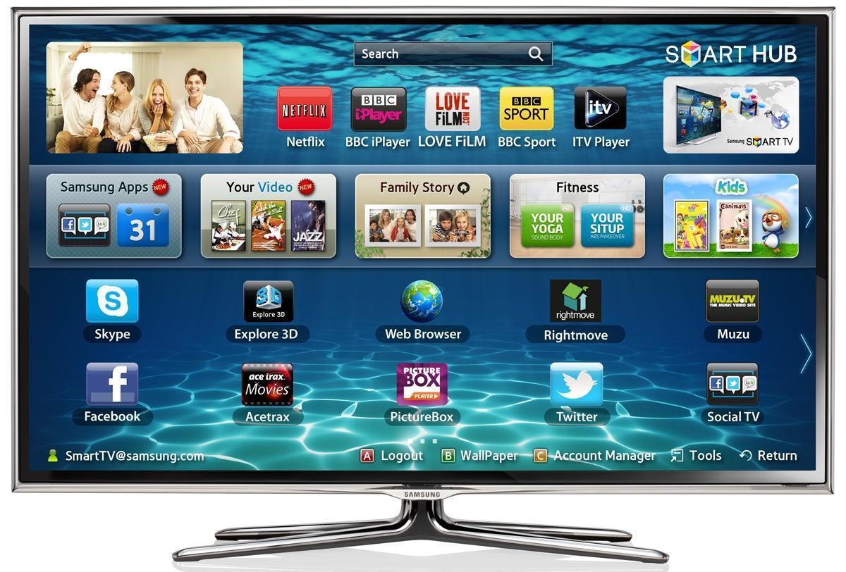 Samsung planea expandir Tizen a otros soportes como televisores y celulares.