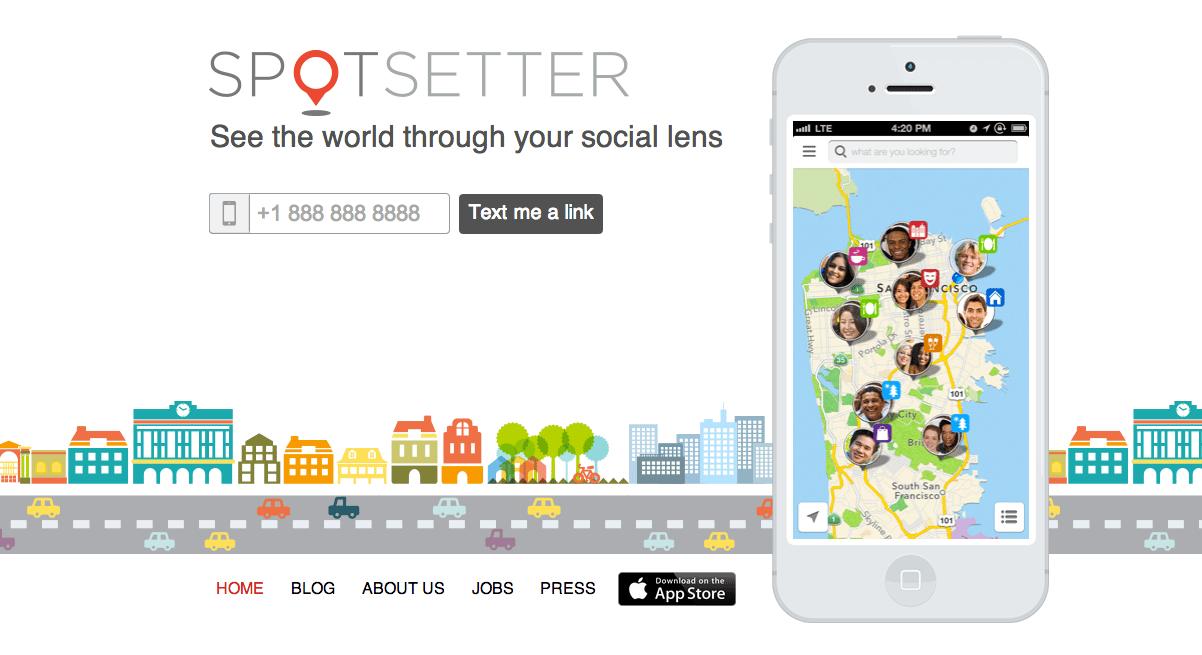 Apple pretende mejorar su herramienta de mapas con las funciones de Spotsetter.