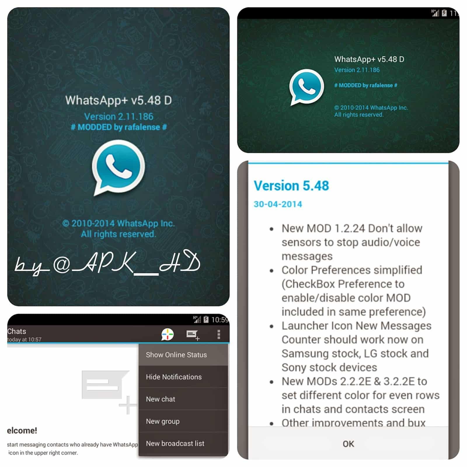 WhatsApp Plus fue creada en España y ha sido tenido más de tres millones de descargas.