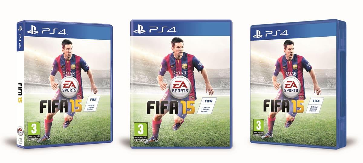 FIFA 15 Cover Caratula Portada Lionel Messi PS4