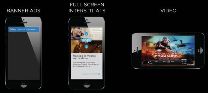 Flurry es capaz de monetizar una aplicación móvil a través de distintos formatos publicitarios.