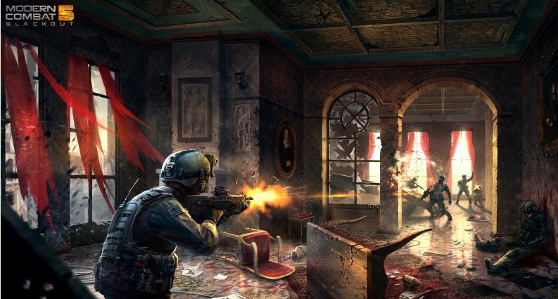 Modern Combat 5: Blackout es uno de los títulos confirmadísimos para Windows Phone y Windows.