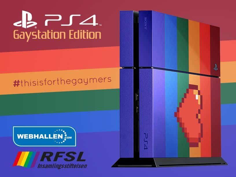 Gaystation Edition.