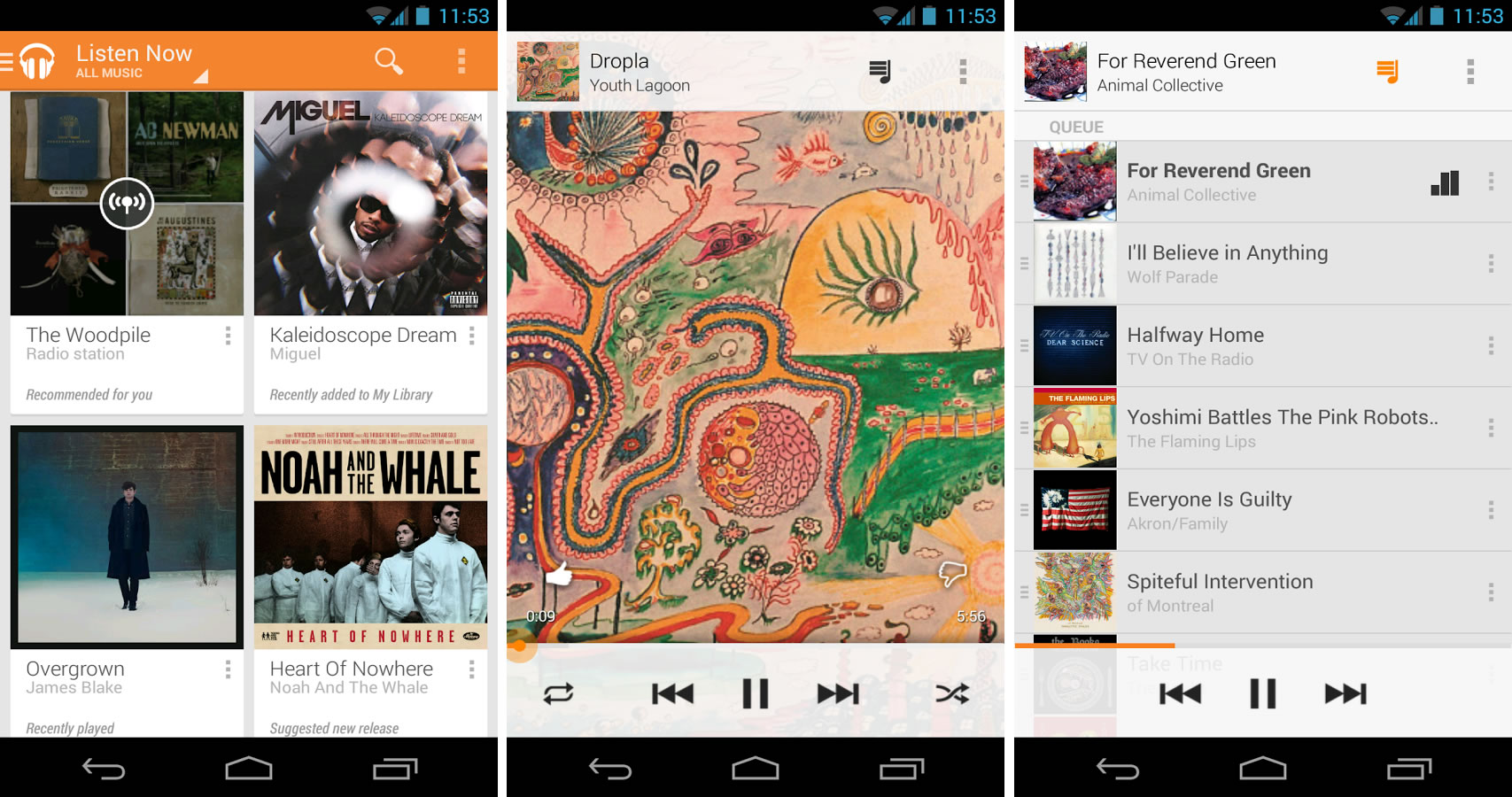 Google Play Music App Android