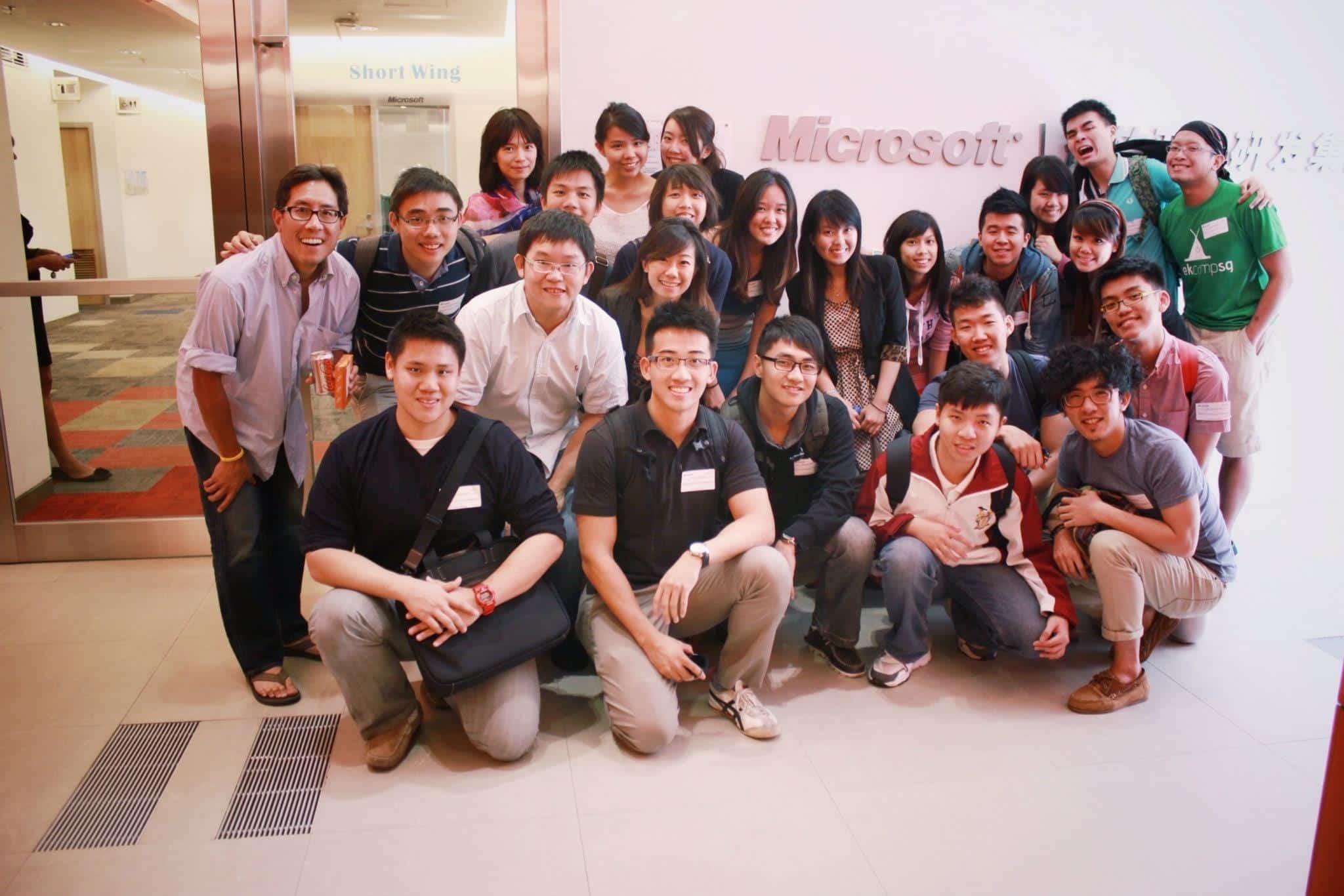 Oficinas de Microsoft en Shanghái. Una de las que visitaron los investigadores del Gobierno chino.
