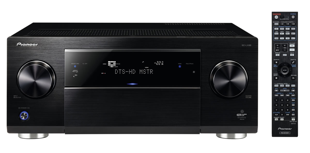 Dolby Atmos: Pioneer SC-LX88 OhMyGeek