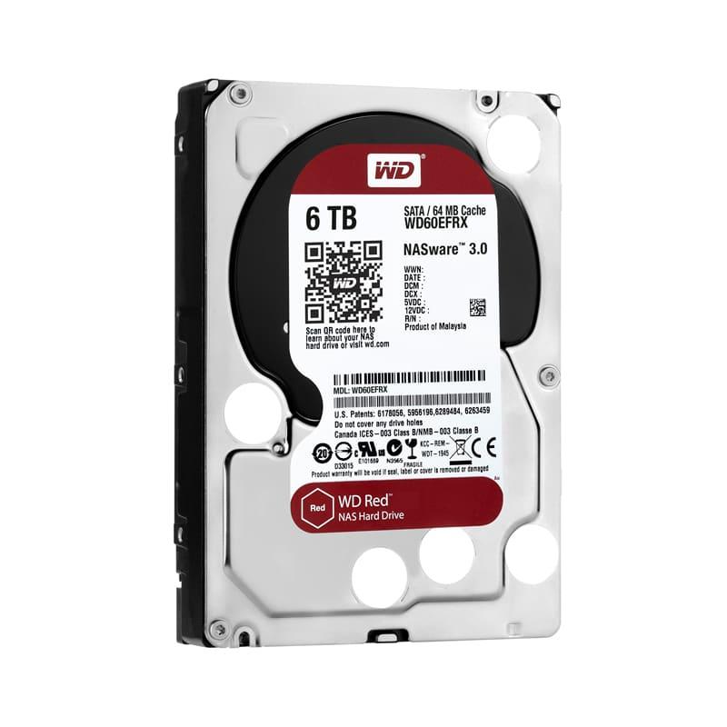 Disco duro WD Red de 6TB.