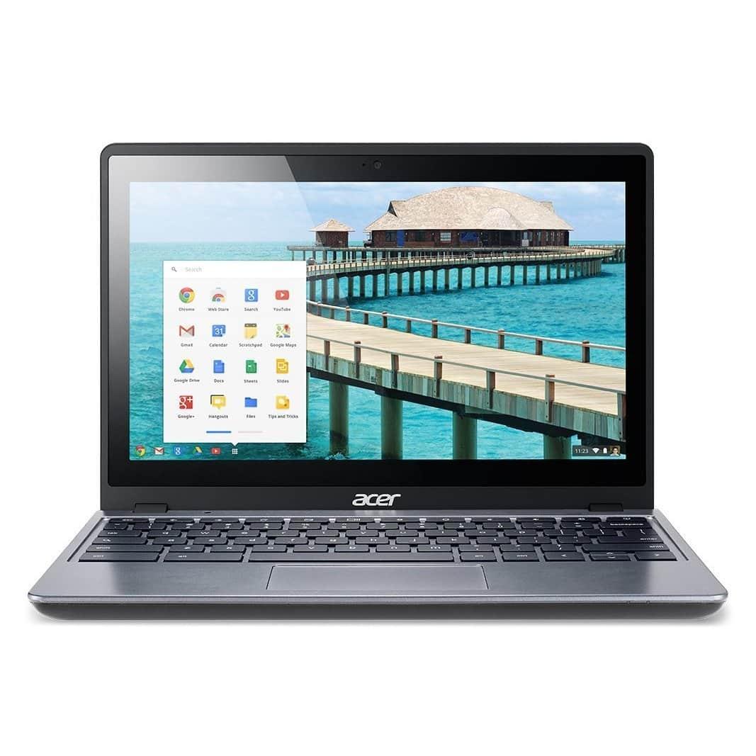 Acer C720 destaca por ser un Chromebook con un procesador más potente que otros equipos.