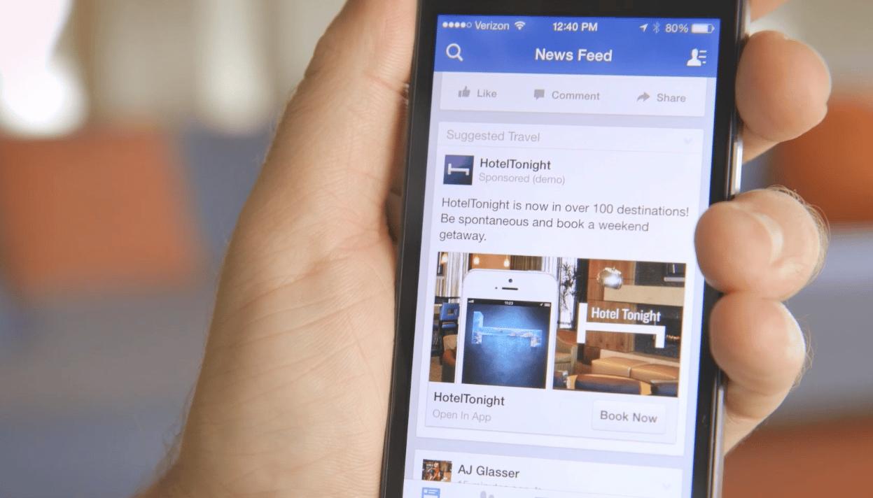 La publicidad móvil ha sido el principal sustento en los ingresos económicos reportados por Facebook.