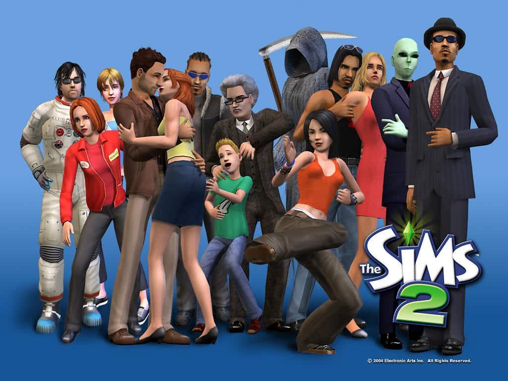 Electronic Arts ofrecerá de forma gratuita Los Sims 2, debido a que el desarrollador retiró el soporte del videojuego.