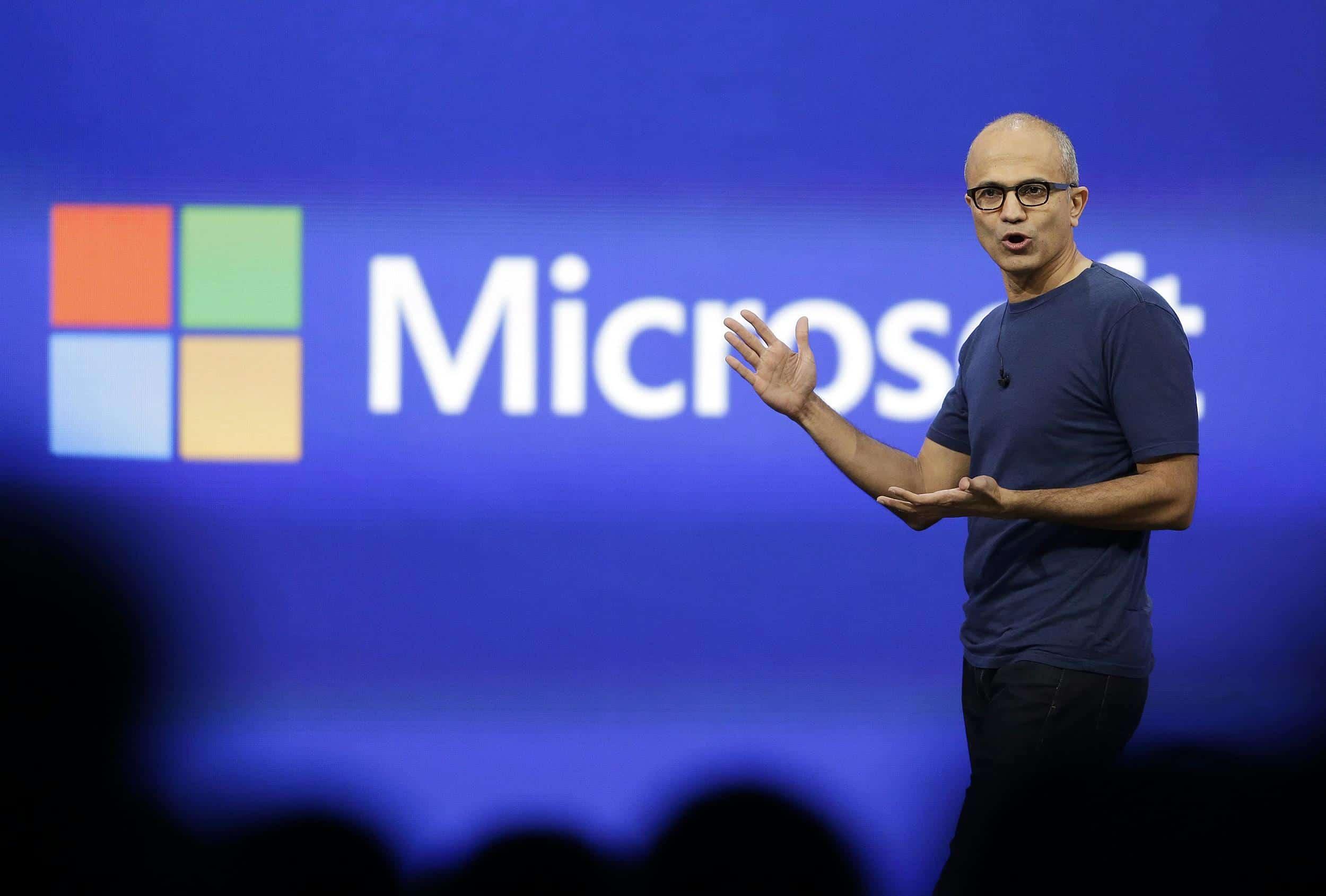 Satya Nadella, eliminará 18.000 puestos laborales en Microsoft.