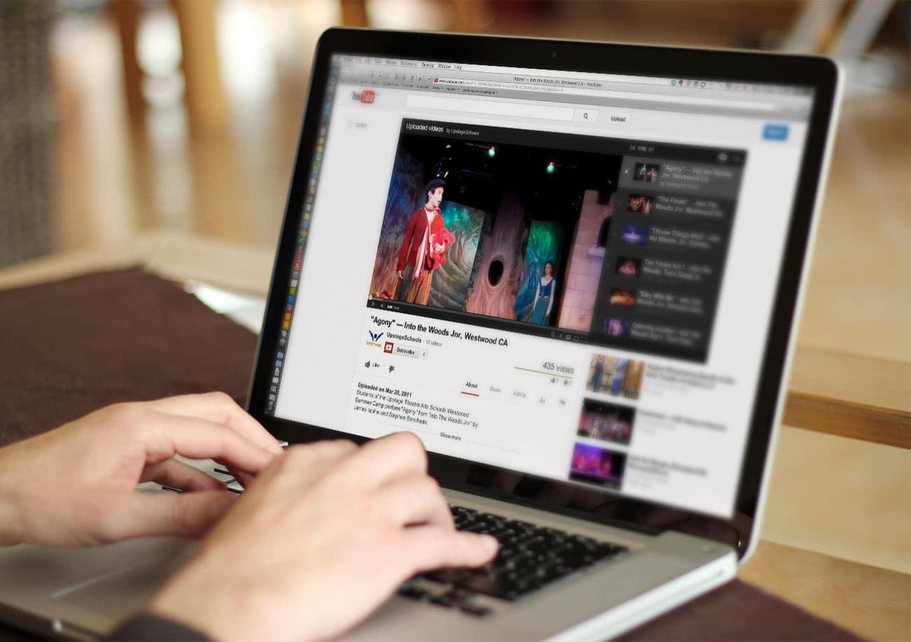 Laptops lideran a la hora de consumir video digital.