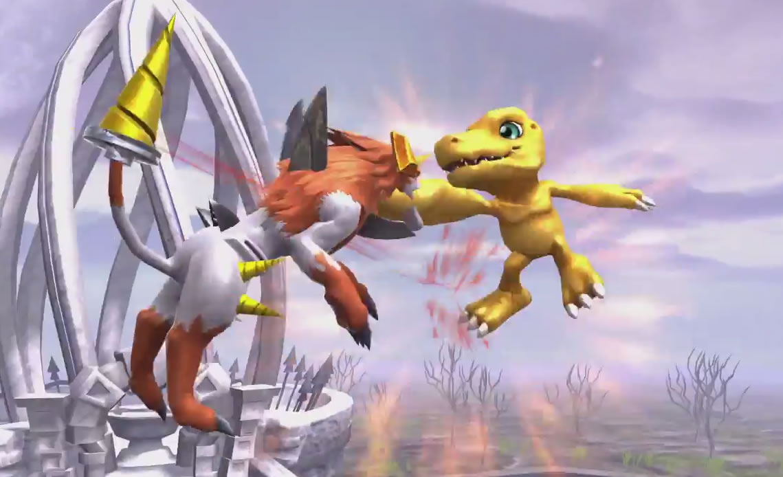 DIGIMON All-Star Rumble.