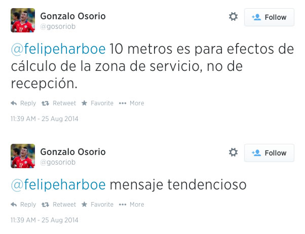 Gonzalo Osorio Felipe Harboe Medicion Antenas