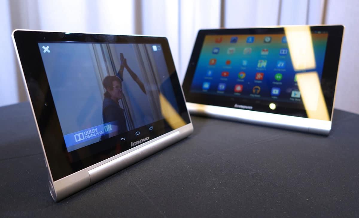 En tablets, Lenovo presentó un crecimiento del 67%.