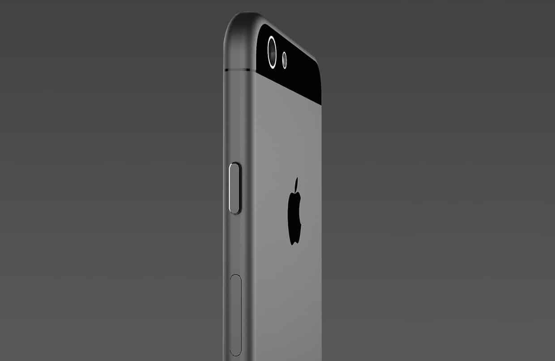 Imagen referencial de cómo sería el iPhone 6.