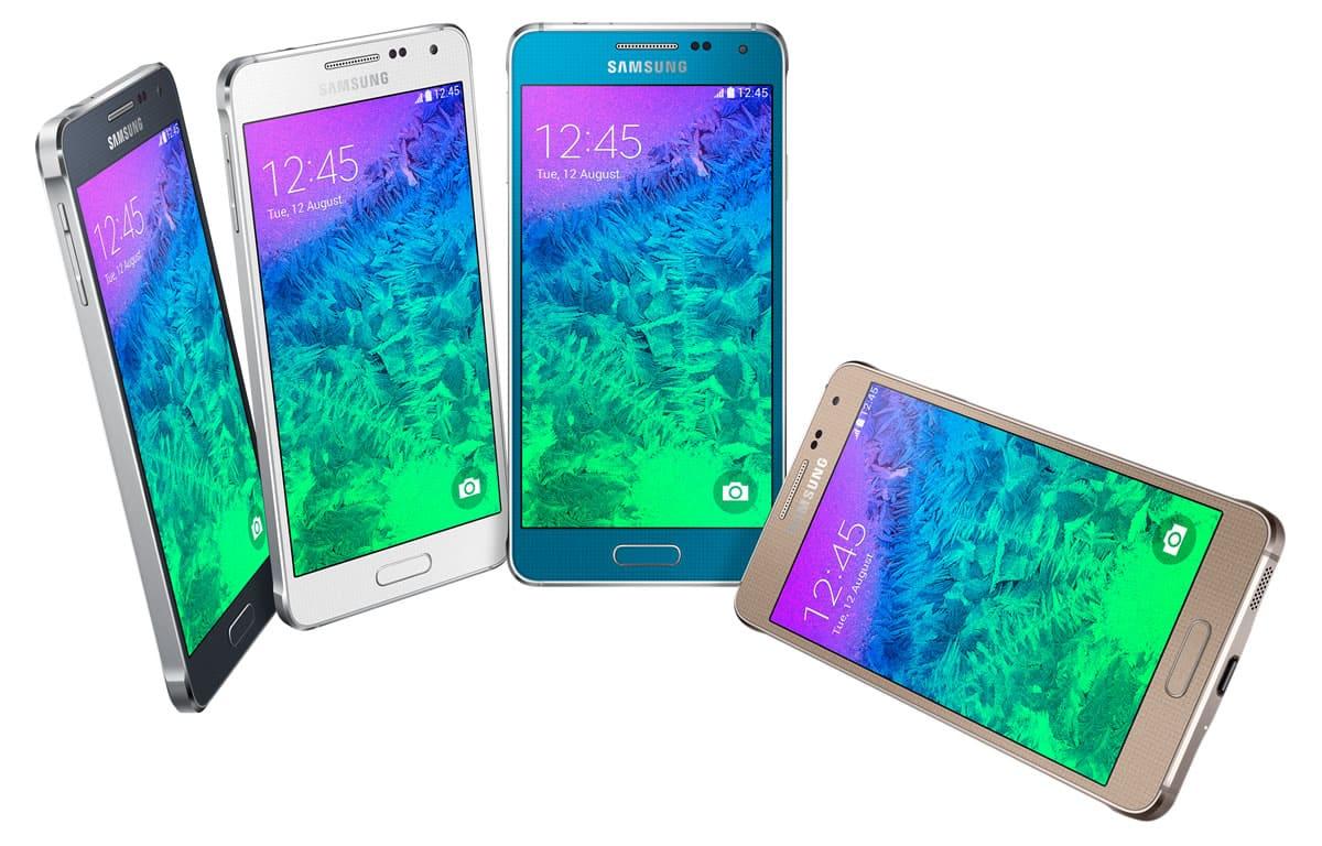 Samsung Galaxy Alpha.