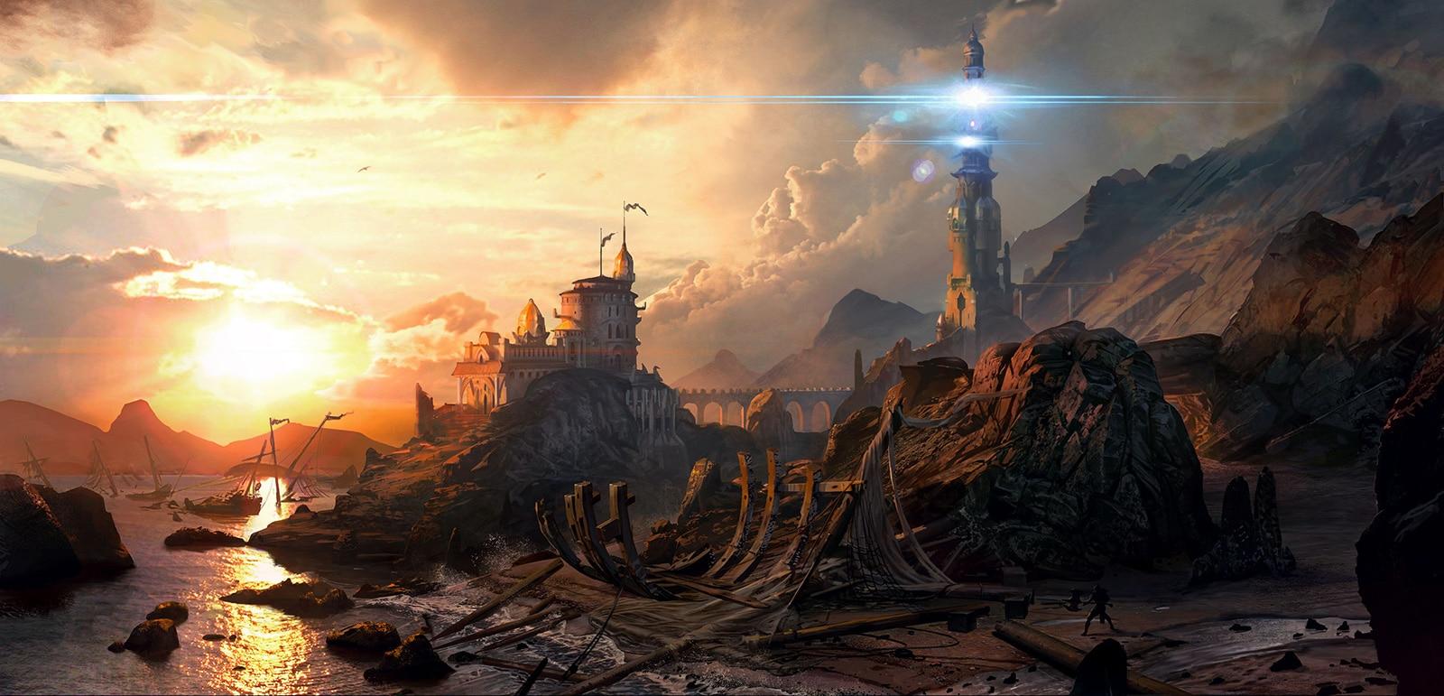 Shadow Realms de BioWare.