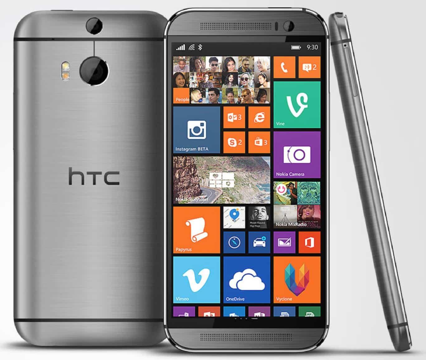 HTC One M8 tendrá una versión para Windows Phone 8.1.