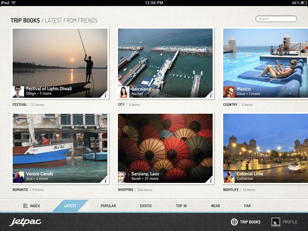 Jetpac, la nueva incorporación de Google, generaba guías turísticas onlines para viajeros en base a imágenes.