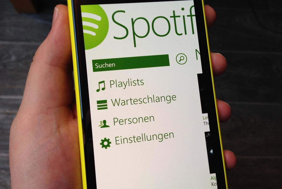 Los usuarios de Windows Phone ahora tendrán acceso a la versión gratuita de Spotify.