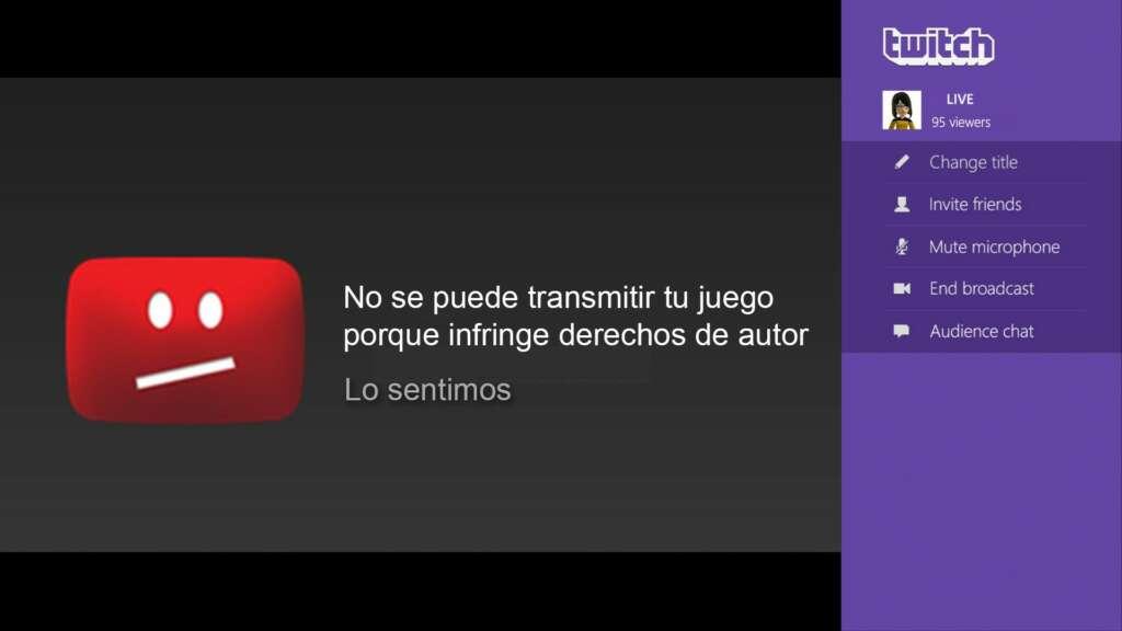 Twitch no aceptará videos que no respeten el copyright.