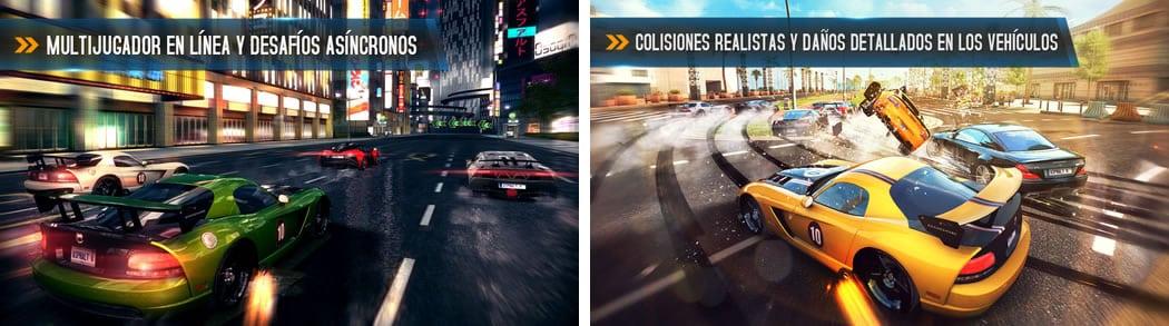 Los nuevos automóviles, los eventos multijugador y el nivel del puerto de San Diego también estarán disponibles en Google Play y Windows Phone.