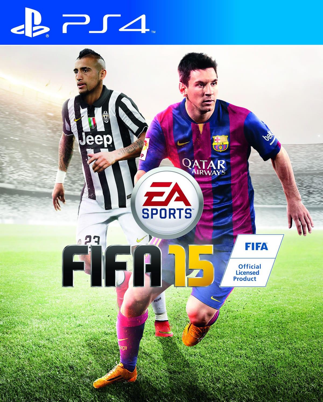 La llegada del Demo de FIFA 15, también confirmó que Arturo Vidal no saldrá solo en la carátula. Estará junto a Messi.