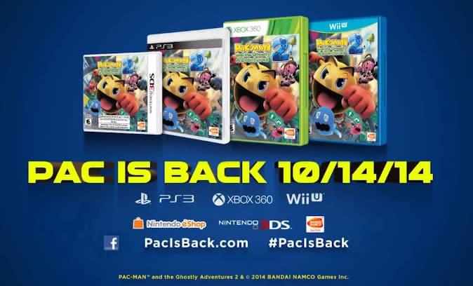 PAC-MAN and the Ghostly Adventures 2: El videojuego estará disponible en octubre para estas plataformas.