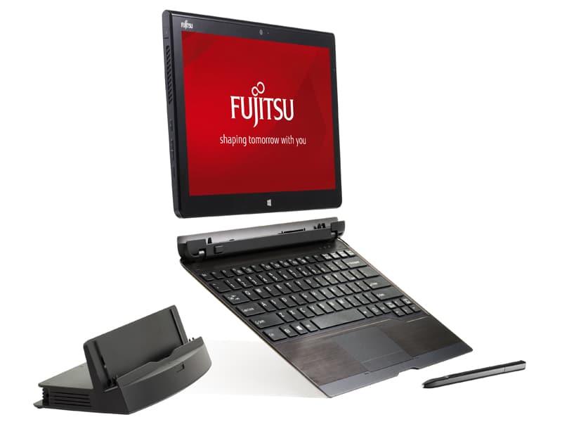 Tableta híbrida STYLISTIC Q704 de Fujitsu.