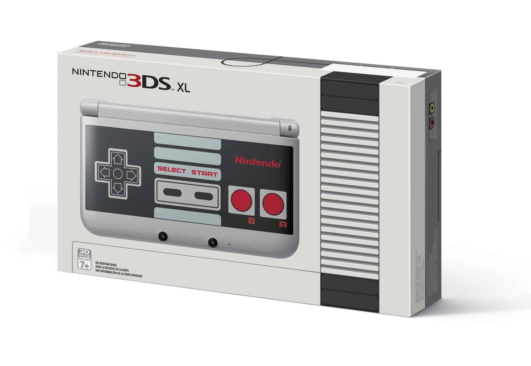 Nintendo 3DS NES Edition costarán 199,99 dólares y sólo llegarán a Estados Unidos.