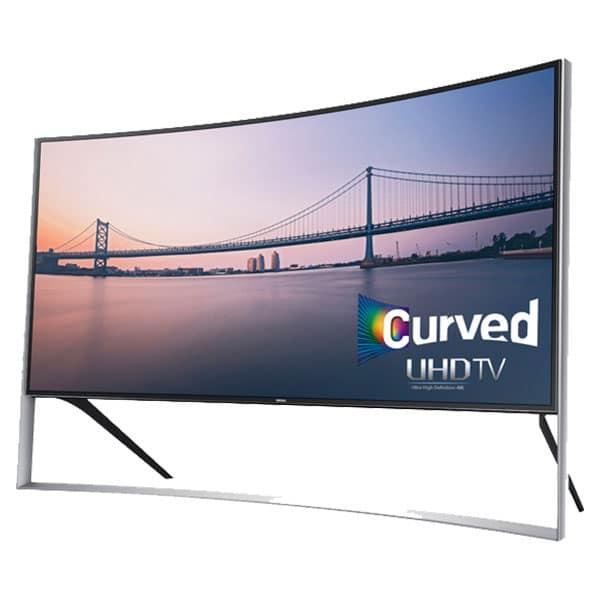 Samsung presentó su nueva línea de televisores, donde destacó el modelo de 105 pulgadas UHD.