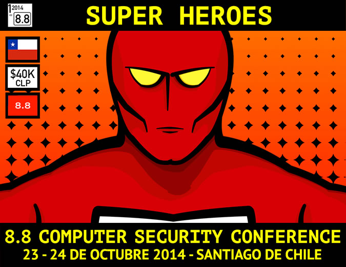 8.8 Computer Security Conference 2014.