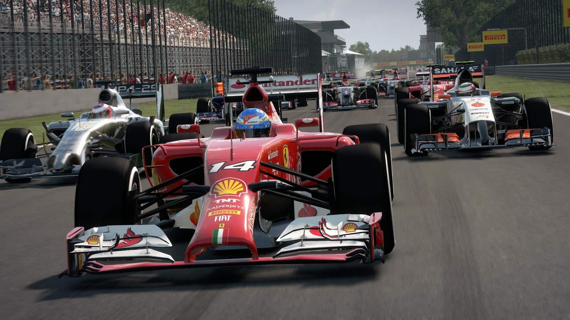 F1 2014.