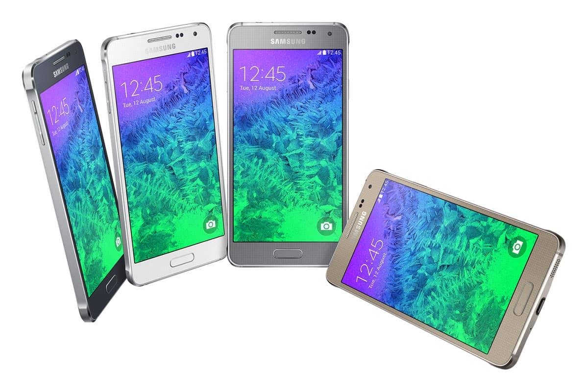 GALAXY Alpha es el primer teléfono de Samsung con bordes verdaderamente metálicos.