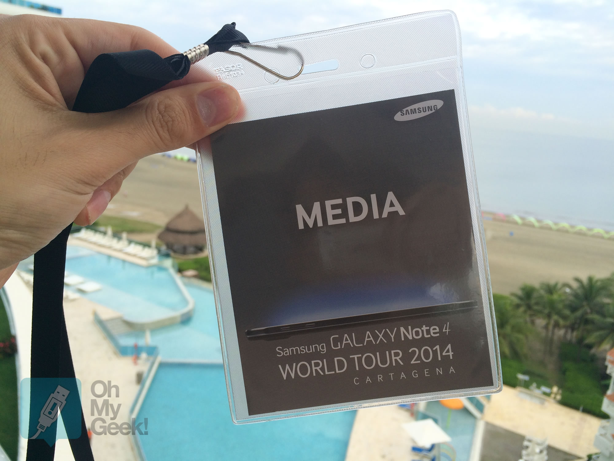 GALAXY World Tour 2014 OhMyGeek!
