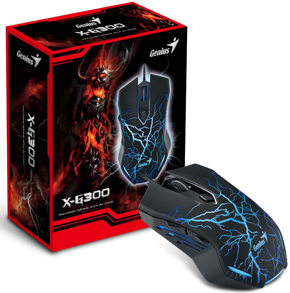 Genius X-G300 en su caja.