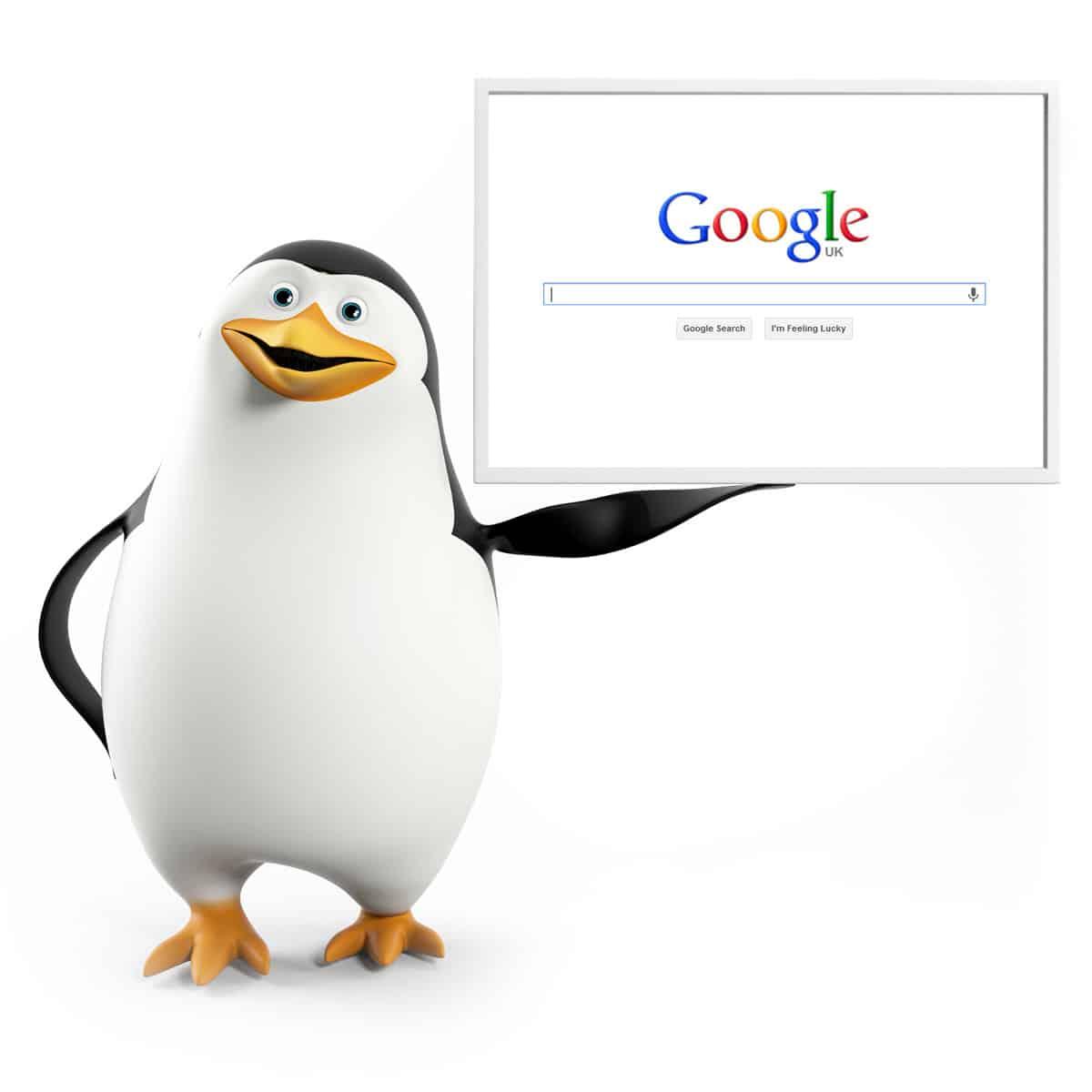 Google pretende mejorar la identificación de sitios spam o con contenidos ilegal con la nueva actualización de Penguin.