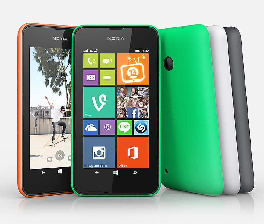 Microsoft (Nokia) Lumia 530.