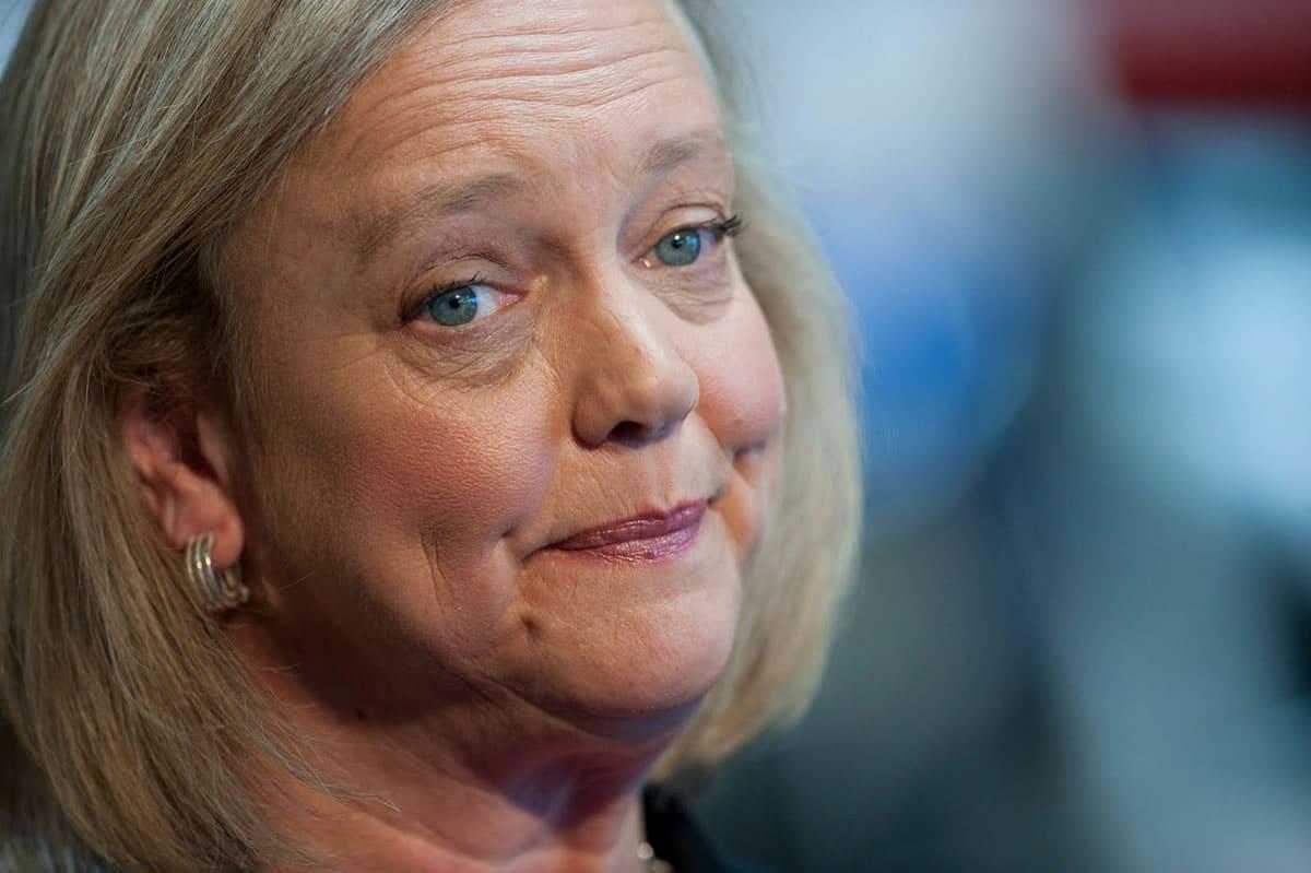 Meg Whitman, actual CEO de HP, había rechazado la división de la empresa hace 3 años.