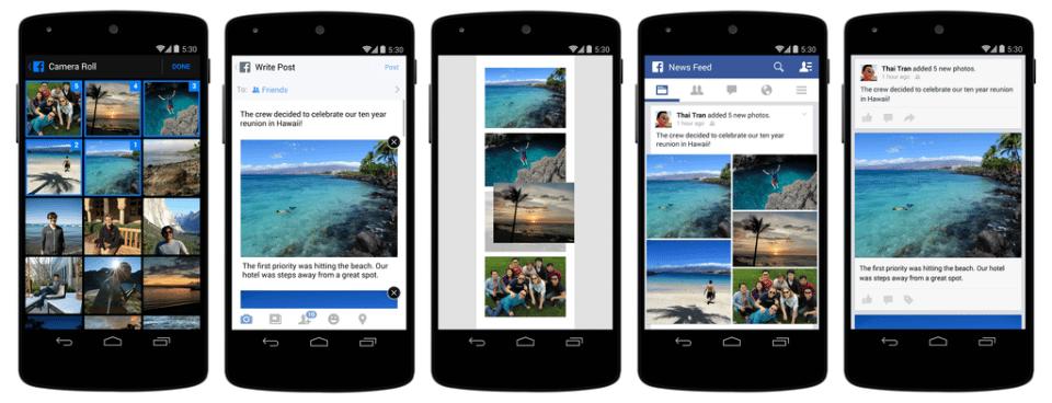 La actualización de Facebook ya está disponible para iOS y Android.