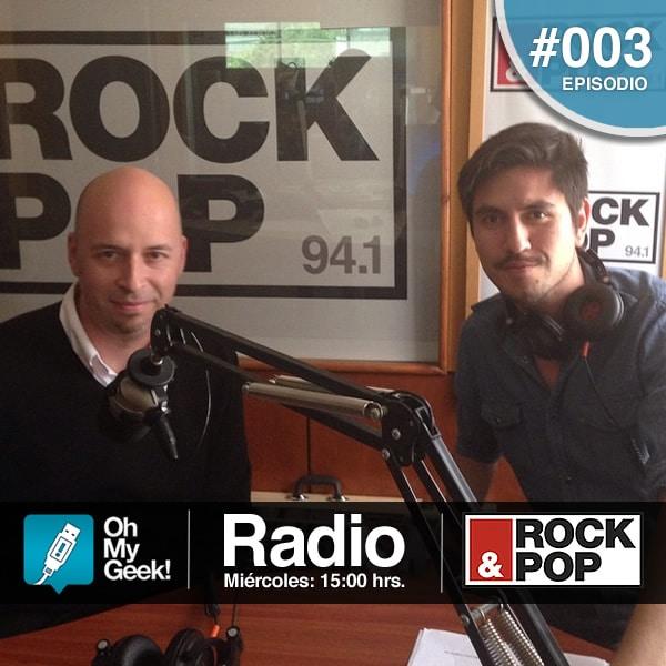 José Huerta de ONG Cívico estuvo presente en este OhMyGeek! Radio #003.