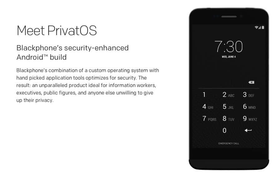 PrivatOS 1.0.5, continúa siendo una modificación de Android, prometiendo seguridad extrema para los usuarios.
