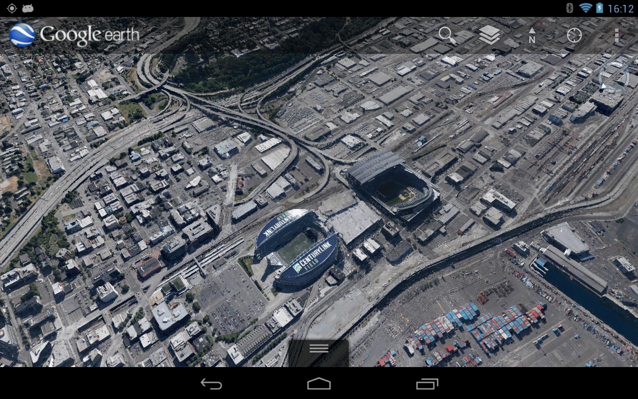 Google Earth para Android entregará un visión de sobrevuelo a los usuarios al revisar ciudades.