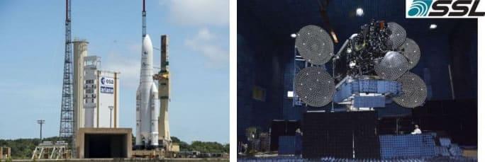El módulo de DIRECTV salió en el satélite Intelsat 30.