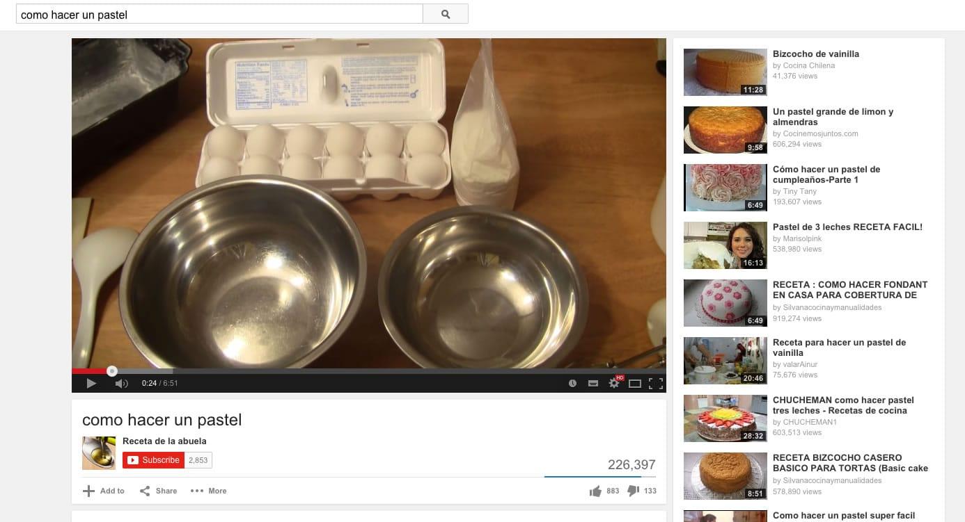 En YouTube también hay tutoriales de todo tipo. Eso lo conversamos en este #002 de OhMyGeek! Radio.